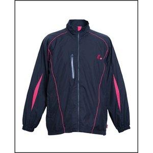 ルーセント LUCENT ウインドウォーマーシャツ(ユニセックス) XLW-4479 [カラー:ブラック×ピンク] [サイズ:130] #XLW4479 9500円以上購入で送料無料
