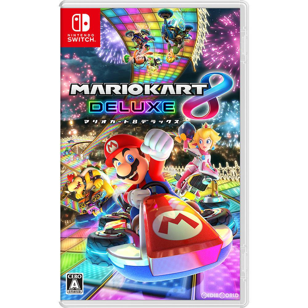 【中古即納】[表紙説明書なし][Switch]マリオカート8 デラックス(Mariokart 8 deluxe)(20170428)