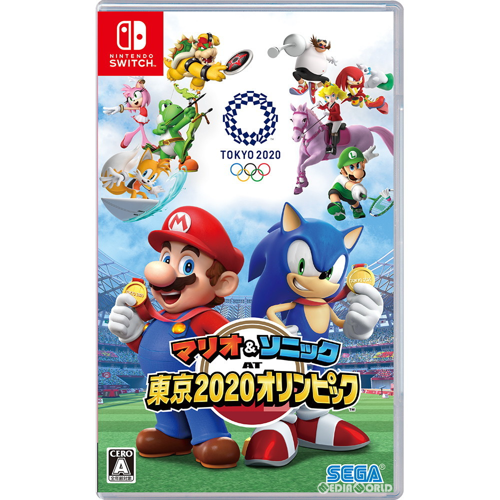 【新品即納】[Switch]マリオ&ソニック AT 東京2020オリンピック(TM)(20191101)