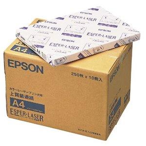 【超特価sale開催】 【キャッシュレス5%還元】EPSON カラーレーザー用 上質普通紙 A4 上質普通紙 1箱(2500枚:250枚×10冊), ビジネスユニフォーム:f56dae7d --- mikrotik.smkn1talaga.sch.id