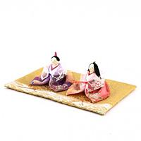 麗寿 花三角雛(れーす はなさんかくびな)【返品・交換・キャンセル不可】【逸品館】