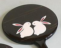 アニマル姫鏡 (ウサギ)【返品・交換・キャンセル不可】【逸品館】