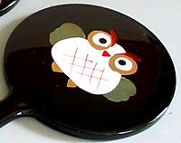 アニマル姫鏡 (フクロウ)【返品・交換・キャンセル不可】【逸品館】