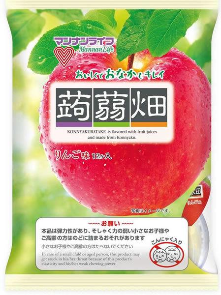 ★まとめ買い★ マンナン 蒟蒻畑りんご味 ×12個【イージャパンモール】