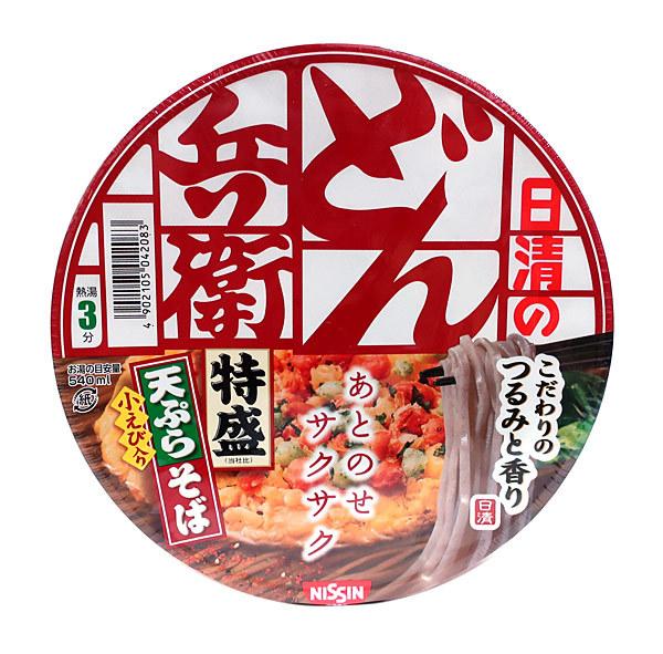 日清食品(株) どん兵衛 特盛天ぷらそば [西] 142g【イージャパンモール】