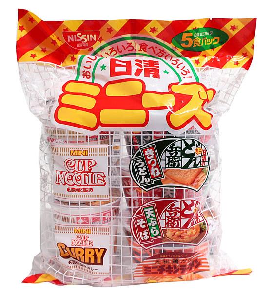 ★まとめ買い★ 日清食品 ミニーズ 5食パック ×6個【イージャパンモール】