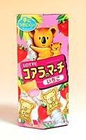 ★まとめ買い★ ロッテ コアラのマーチ いちご 48g ×10個【イージャパンモール】