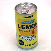 ★まとめ買い★ サンガリア スキッとレモンC 190g缶 ×30個【イージャパンモール】