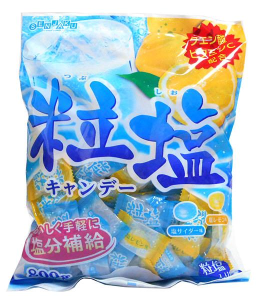 扇雀飴 粒塩キャンデー800g【イージャパンモール】