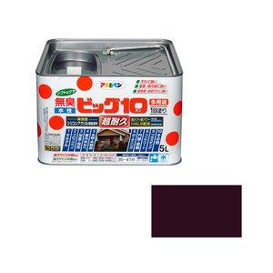 【再入荷!】 【キャッシュレス5%還元】AP 水性ビッグ10多用途 5L 241チョコレート色【イージャパンモール】, キレイのすすめ f5707abc