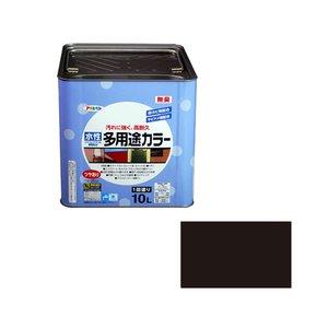 【翌日発送可能】 【キャッシュレス5%還元】AP 水性多用途カラー 10L 黒【イージャパンモール】, bocca-shop:d9c6503f --- license.deutschefewos.de