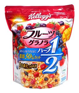 ケロッグ フルーツグラノラハーフ500g【イージャパンモール】