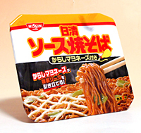 日清食品(株) ソース焼そば からしマヨネーズ付 108gカップ【イージャパンモール】