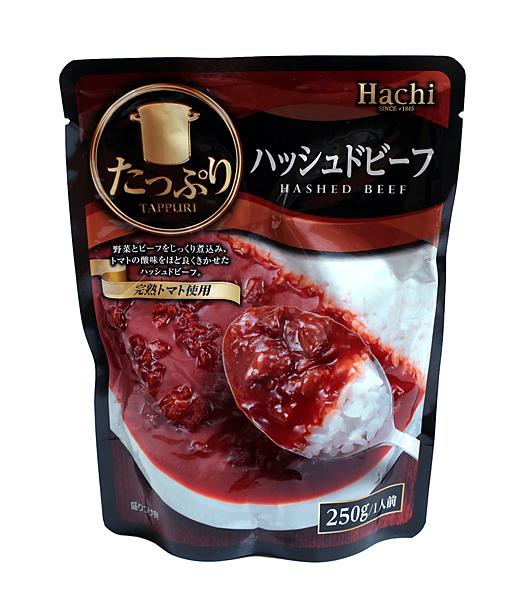 ハチ食品 たっぷり ハッシュドビーフ 250g【イージャパンモール】
