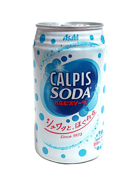 ★まとめ買い★ カルピスソーダ 350ml缶 ×24個【イージャパンモール】