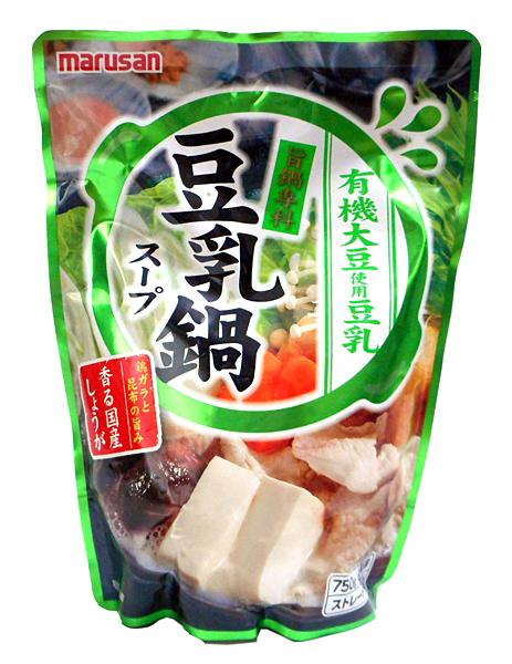 マルサンアイ 旨鍋専科豆乳鍋スープ750g【イージャパンモール】