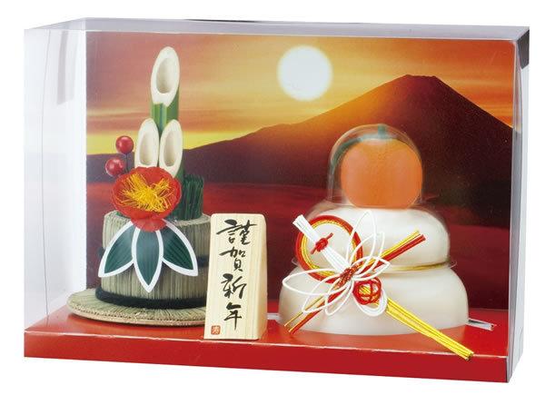 【鏡餅】タイマツ [G−48]お鏡餅門松飾り160g ×12個