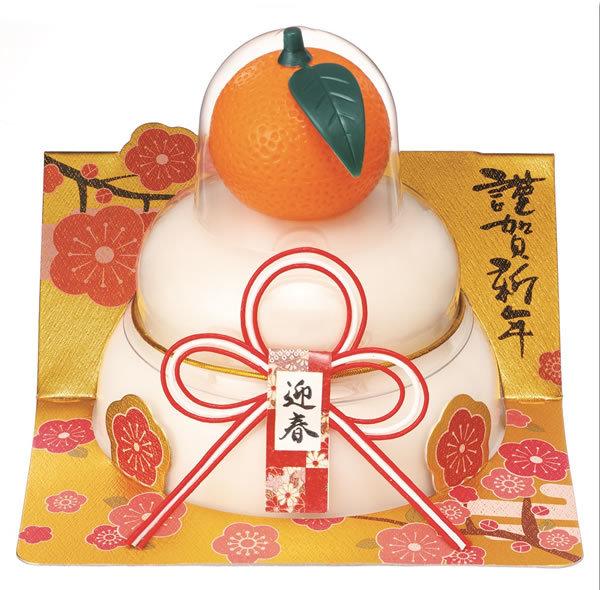 【鏡餅】タイマツ [G−102]お鏡餅橙160g