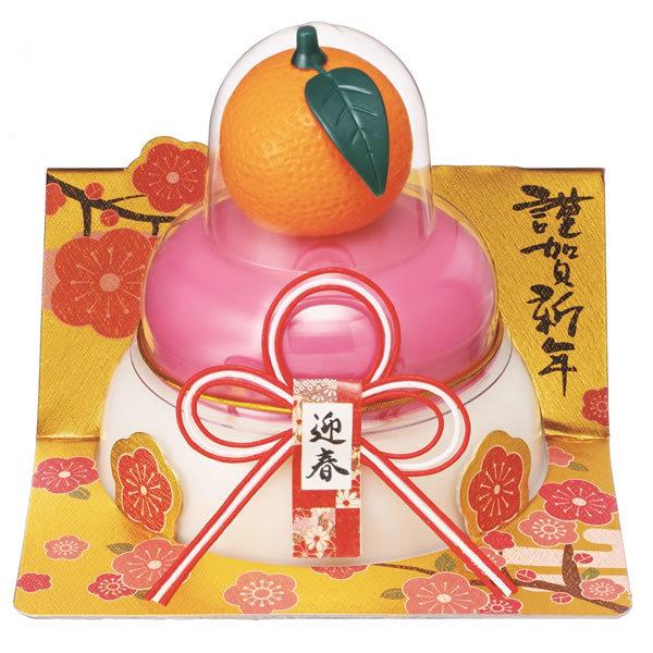 【鏡餅】タイマツ [G−109]お鏡餅橙紅白160g