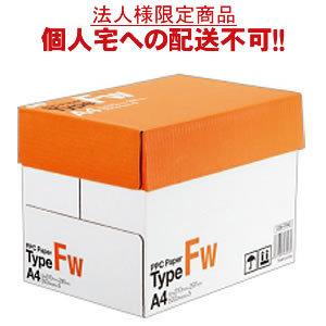 【送料無料】【A4サイズ】TANOSEE PPC Paper Type FW A4 500枚×5冊/箱【法人(会社・企業)様限定】【イージャパンモール】