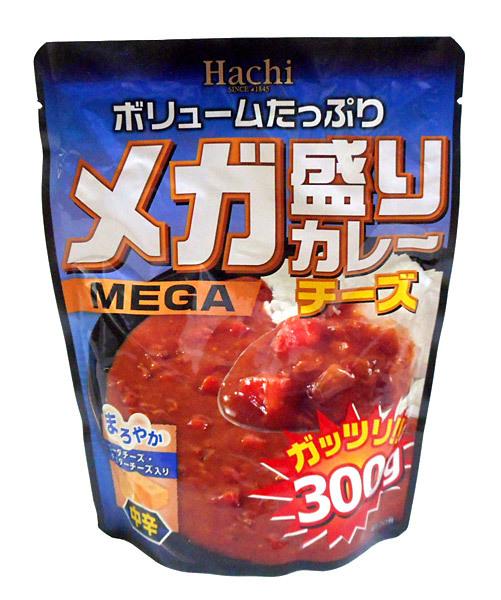 ハチ メガ盛りカレー チーズ 300g【イージャパンモール】