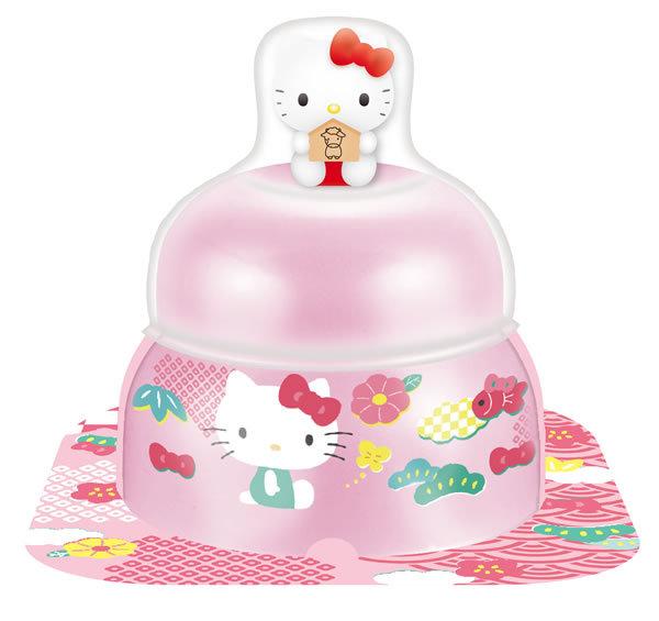 【鏡餅】★まとめ買い★ サトウ 小飾りキティマスコット付 ピンク 66g ×30個【イージャパンモール】