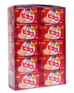 ★まとめ買い★ グリコ ビスコミニパック 5枚 ×20個【イージャパンモール】