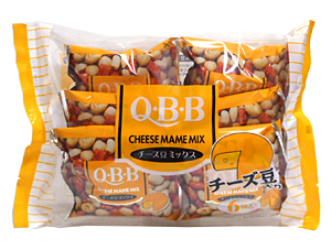 六甲バターQBB チーズ豆ミックス6袋【イージャパンモール】