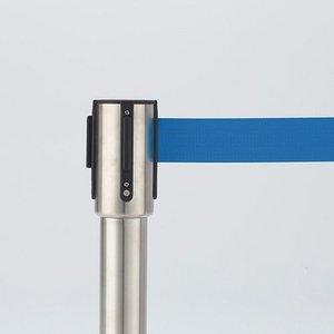 【海外限定】 【キャッシュレス5%還元】ノーブランド ベルトパーテーションスタンドSE シルバータイプ シルバータイプ ベルト:青 1台, Voks:835f661b --- extremeti.com