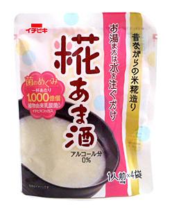 イチビキ 乳酸菌入り糀あま酒1人前×4袋【イージャパンモール】