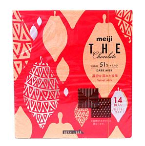 明治 チョコレート濃密ナ深ミト旨味ベルベットミルクBOX70g【イージャパンモール】