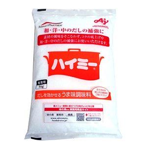 楽天 【キャッシュレス5%還元】★まとめ買い★ ハイミー 味の素 ハイミー 1Kg ×12個【イージャパンモール】 昆布のうまみ成分にかつおぶしとしいたけのうま味成分を加えた、少量でだしの補強やコクづけができる経済的なうま味調味料です。 素材の風..., ナンカイドリンク:92c958ef --- extremeti.com