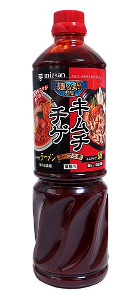 ミツカン 麺&鍋 キムチチゲスープ 1.27L【イージャパンモール】