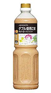 味の素 ダブル焙煎ごまクリーミードレッシング 1L【イージャパンモール】