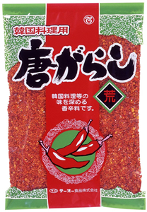 テーオー 韓国料理用唐辛子(荒) 250g【イージャパンモール】