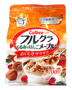 カルビー フルグラ くるみ&りんごメープル味 700g【イージャパンモール】