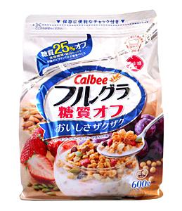 カルビー フルグラ糖質オフ 600g 【イージャパンモール】