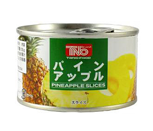 谷尾 パインアップル4枚スライス F2号缶 225g【イージャパンモール】