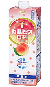 アサヒ カルピス白桃 Lパック 紙P 1L【イージャパンモール】