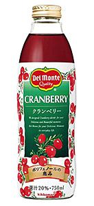Del クランベリードリンク 瓶 750ML【イージャパンモール】