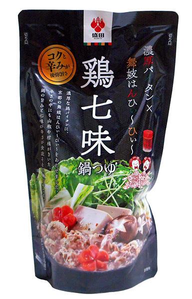盛田 鶏七味鍋つゆ600g【イージャパンモール】