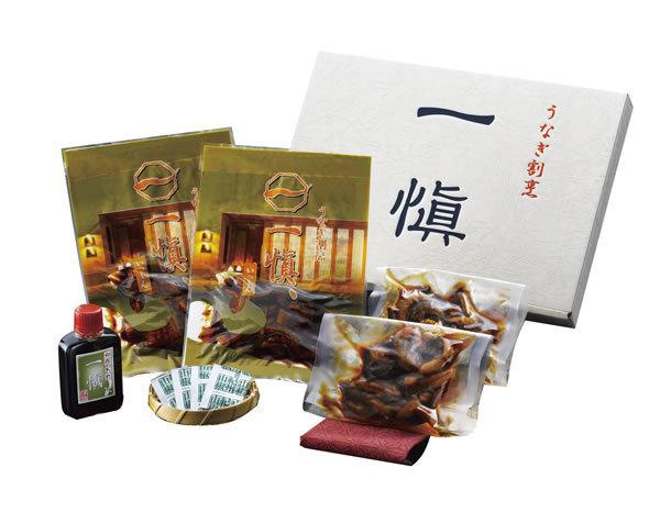 【送料無料】うなぎ割烹「一愼」 きざみ鰻と肝の佃煮の詰合せ UIKK22【ギフト館】