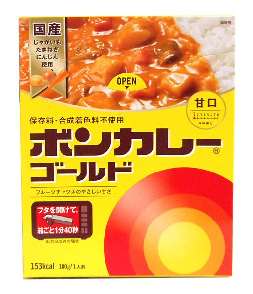 大塚 ボンカレーゴールド甘口180g【イージャパンモール】