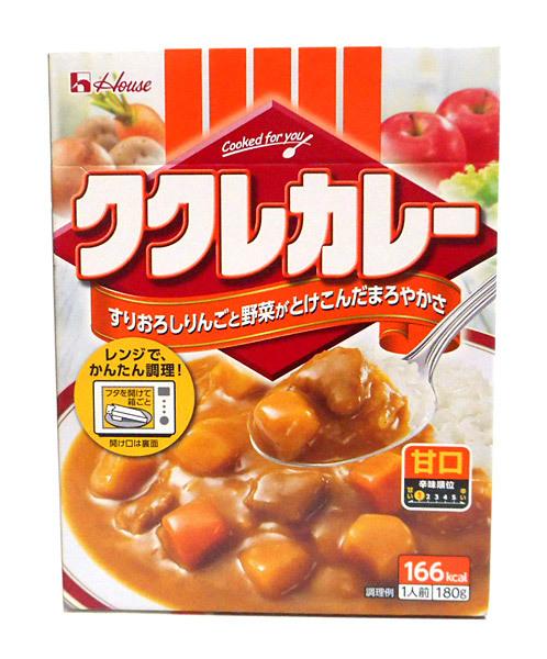 ハウス ククレカレー甘口180g【イージャパンモール】