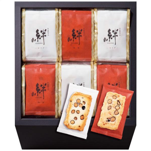 【送料無料】百菓匠 丹波黒豆おかき 絆 M−50 M−50【ギフト館】