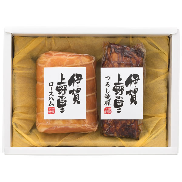 【送料無料】【父の日】伊賀上野の里 父の日 伊賀上野の里ロースハム&つるし焼豚詰合せ SAG−30【ギフト館】