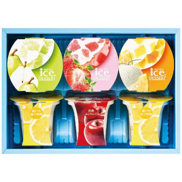 【送料無料】ひととえ 凍らせて食べるアイスデザート〜国産フルーツ入り〜 IDD−15 IDD−15【ギフト館】