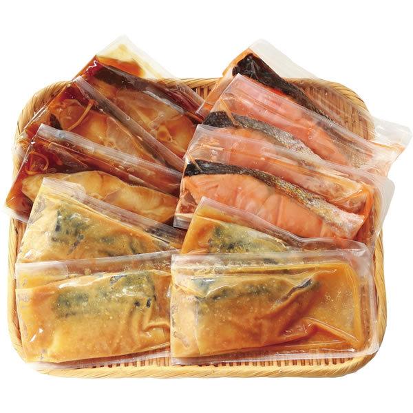 【送料無料】山陰大松 氷温熟成 焼魚・煮魚詰合せ NA−100【ギフト館】