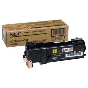 【国内在庫】 【キャッシュレス5%還元】NEC 大容量トナーカートリッジ イエロー PR-L5700C-16 PR-L5700C-16 1個, ヤストミチョウ:f761660c --- cartblinds.com