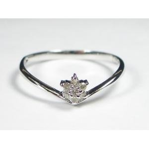 美品  K10WGダイヤリング 0.07CT TOKR1757 7号(き) TOKR1757 繊細なダイヤがあなたの手をより一層美しく華やかに。, MI工房:1fe583f1 --- ancestralgrill.eu.org